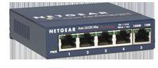 ProSafe 5-Port Fast Ethernet Switch