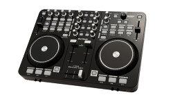 Der 2-Deck USB-DJ-Mixer mit seinem stabilem ABS-Gehäuse ist ein Profi MIDI Club-Mixer aus dem Haus DJ-TECH.