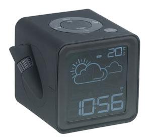 muvid mc 916 1 funk projektionsuhr mit ukw radiowecker und. Black Bedroom Furniture Sets. Home Design Ideas