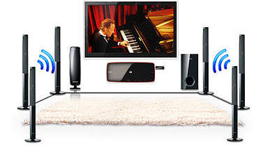 samsung swa 5000 wireless rearmodul zu rear speakern elektronik. Black Bedroom Furniture Sets. Home Design Ideas