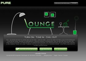 The Lounge Homepage
