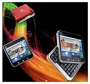 Stylisches Smartphone im Taschenformat