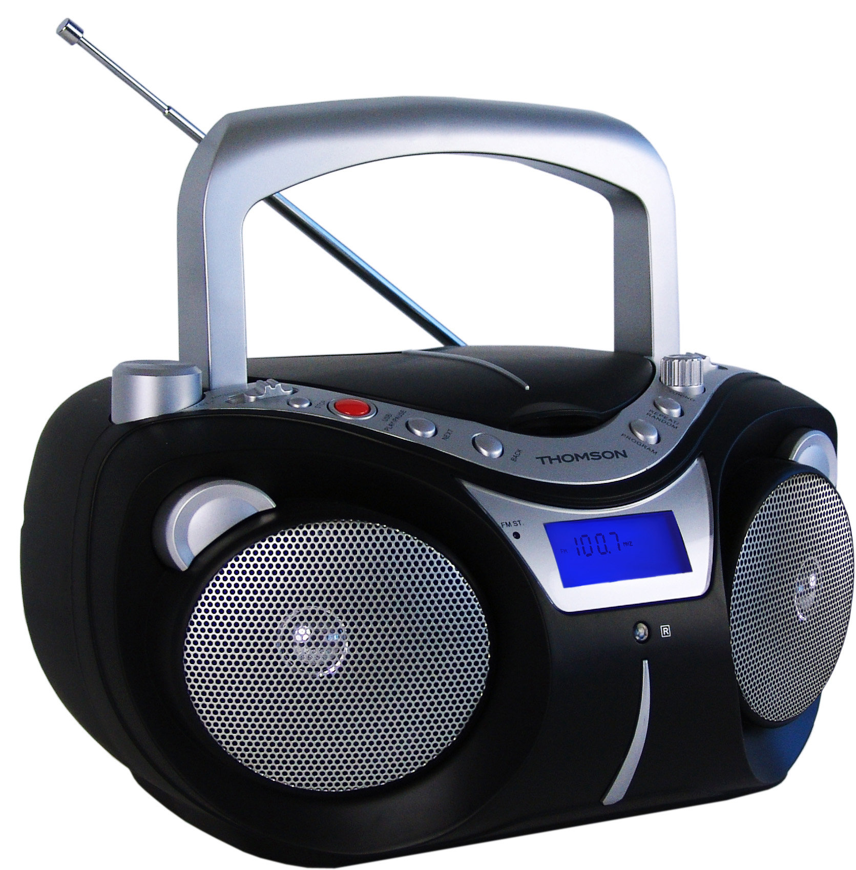 thomson rcd203u cd radio cd mp3 player usb am fm radio. Black Bedroom Furniture Sets. Home Design Ideas