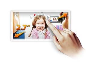 6,9 cm (2.7 Zoll) Touchscreen