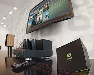 Multimediaerlebnis mit der Boxee Box