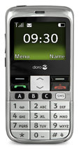 Doro PhoneEasy 332gsm chrome