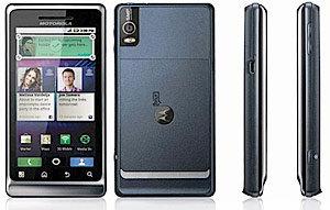 Motorola Milestone 2 Ansichten