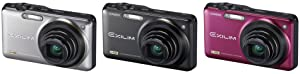 Casio Exilim EX-ZR10BK Highspeed-Digitalkamera schwarz