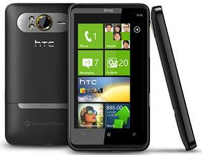 HTC HD7 - Ansichten