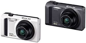 Casio Exilim EX-ZR100 Highspeed-Digitalkamera weiß