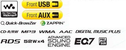 CD-Receiver mit Aux-Anschluss
