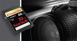 SanDisk Extreme® Pro™ SDHC™ UHS-1 Card