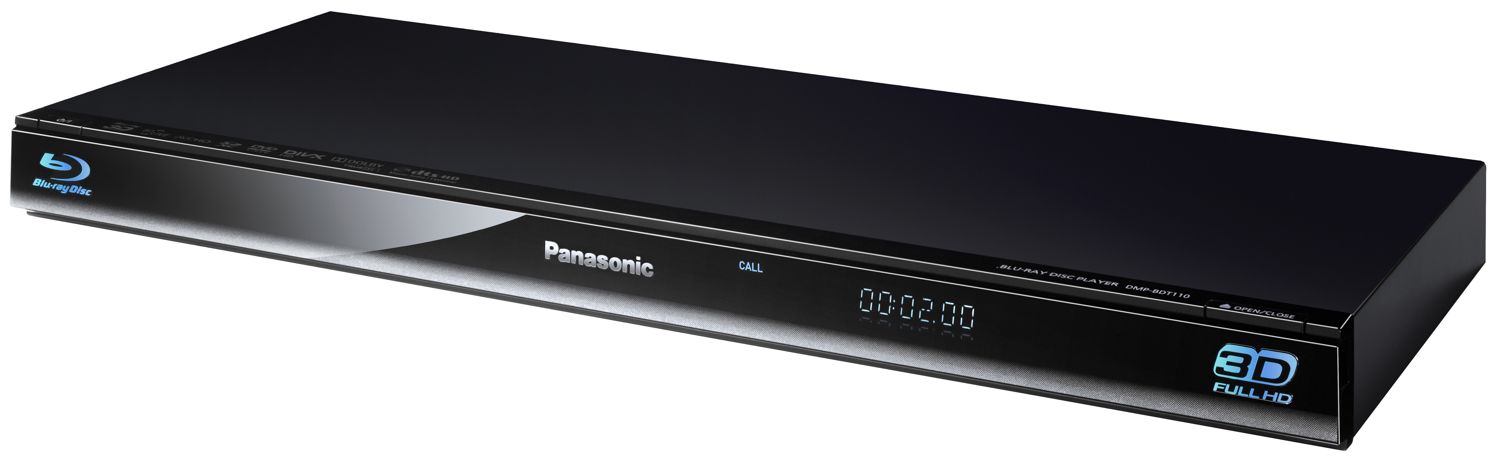 Panasonic dmp bdt110eg 3d blu ray player upscaler 1080p hdmi apple