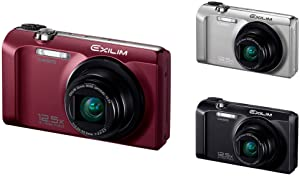 Casio Exilim EX-H30 Digitalkamera bordeaux