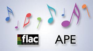 FLAC- und APE-Wiedergabe