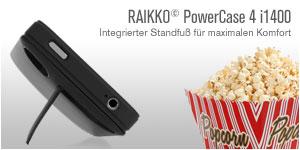RAIKKO PowerCase 4 i1400 Standfuß und Leistung