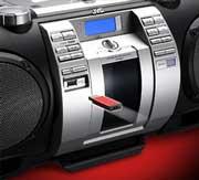 MP3 / WMA Wiedergabe über den Boomblaster