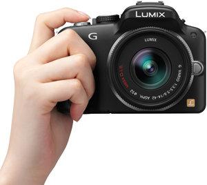 Panasonic Lumix DMC-G3-Vorderseite