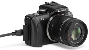 Panasonic Lumix DMC-G3 - Von links