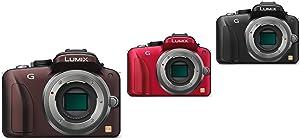 Panasonic Lumix DMC-G3 Systemkamera Gehäuse braun