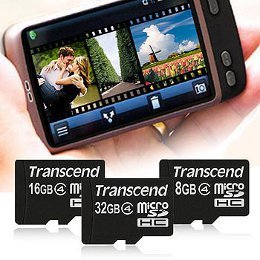 Transcend microSDHC4 Theme