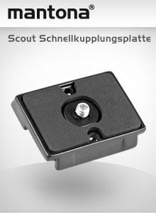 mantona Scout Schnellkupplungsplatte
