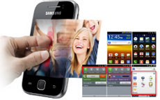 Benutzeroberfläche TouchWiz