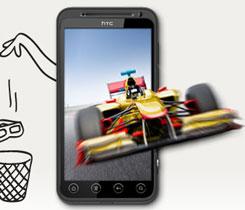 3D Smartphone HTC Evo