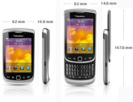 BlackBerry Torch&trade; 9810 Smartphone