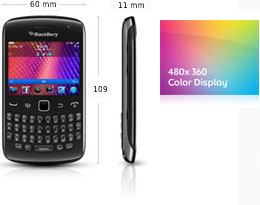 BlackBerry Curve™ 9360 Smartphone