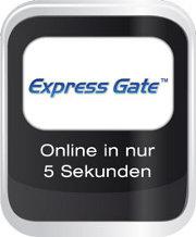 Express Gate- Online in nur 5 Sekunden