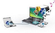 Riesige Festplatte mit 1 Terabyte Speicherkapazität*