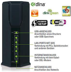 getgoods: D-Link DIR-645/E Smart Beam Wireless-LAN b/g/n Router (4x RJ45, 1000 Mbit/s, DHCP) 49,90 Euro inkl. Versand