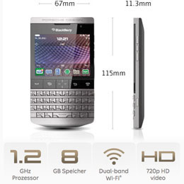 Porsche Design P'9981 von BlackBerry