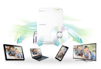 Smart Hub externer DVD 8x Brenner