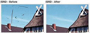 Easily remove dust and scratches with iSRD