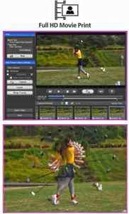 Einzelbildüberlagerung für tolle Fotoprints aus einem Bewegungsablauf