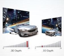 3D-Tiefenkontrolle