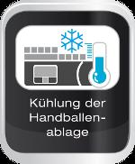 Kühlung der Handballenablage