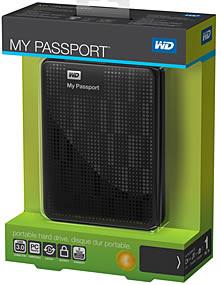 My Passport - Tragbare Festplatte in Tiefschwarz