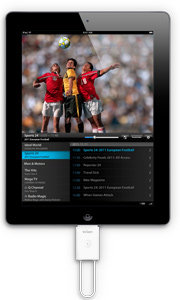 ICUBE tivizen pico mit iPad 2