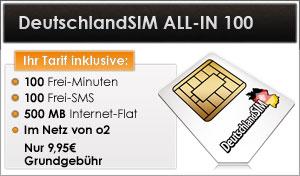 DeutschlandSIM ALL-IN 100