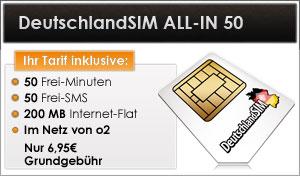 DeutschlandSIM ALL-IN 50
