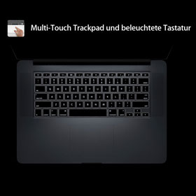 Beleuchtete Tastatur