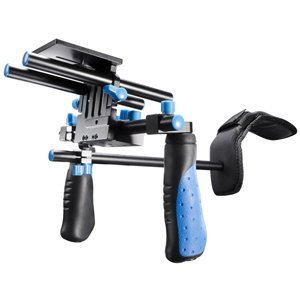 walimex pro DSLR Rig Hand & Schulter Stativ