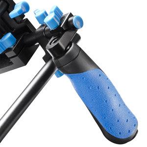 stabilisierendes Schulterstativ zum verwacklungsfreien Filmen