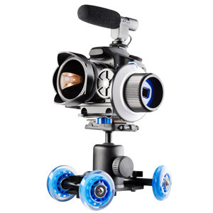Walimex Pro Mini-Dolly Video Komplettset I