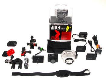 Die JOBO JIB 4 wird standardmäßig mit einem umfangreichen Zubehörpaket geliefert!