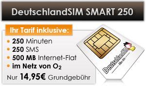 DeutschlandSIM Smart 250