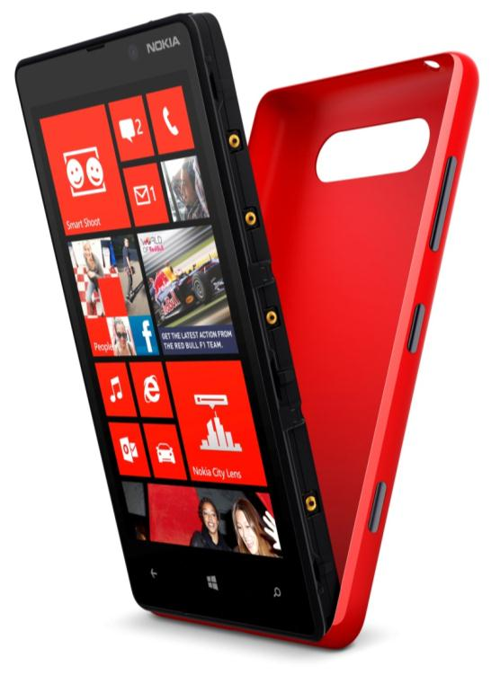nokia lumia 820 smartphone 4 3 zoll matt black. Black Bedroom Furniture Sets. Home Design Ideas